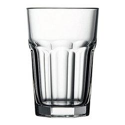 Hospitality Glass - 4.75H X 3.25T X 2.5B Casablanca 12 oz Beverage Glasses 36 Ct - Casablanca 12 oz Beverage