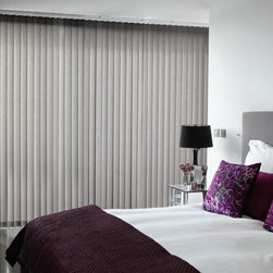 Sliding Glass Door Blinds - Cover you sliding glass door with these beautiful fabric vertical blinds.