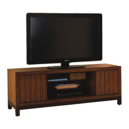 Tommy Bahama Home - Tommy Bahama Home Ocean Club Intrepid Entertainment Console - Tommy Bahama Home - TV Stands - 010536907 -
