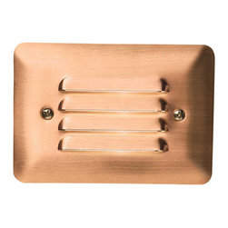 Kichler - Kichler Other Outdoor Wall Mount Light Fixture in Red - Shown in picture: LED Louvered Mini Step in Copper