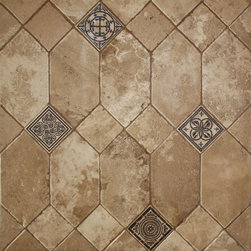 Custom Limestone Floors - Sonoma Limestone collection of custom floors by Lucasso
