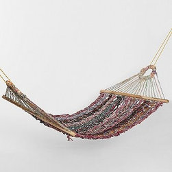 Magical Thinking Large Woven Hammock - The hammock is a magical way to kick back and relax in style.