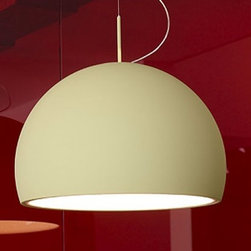 """Prandina - Prandina Biluna  S70 pendant light - The Biluna pendant light has been designed by LUC RAMAEL in 2008. This suspension mounted light is perfect for downward flourescent lighting. This fixture is composed of a painted metallic structure with central or side ceiling rose. Clear grey, beige or black painted polypropylene diffuser. Lower shell diffuser in opal white thermoformed methacrylate. Built-in constant-output. Dimmable (dali) electronic gear is available upon request.  Product description: The Biluna pendant light has been designed by LUC RAMAEL in 2008. This suspension mounted light is perfect for downward flourescent lighting. This fixture is composed of a painted metallic structure with central or side ceiling rose. Clear grey, beige or black painted polypropylene diffuser. Lower shell diffuser in opal white thermoformed methacrylate. Built-in constant-output. Dimmable (dali) electronic gear is available upon request. Details:                         Manufacturer:            Prandina                                    Designer:                         LUC RAMAEL                                         Made in:            Italy                            Dimensions:                        Overall Height: 118.1"""" (300 cm) X Diffuser Width: 23.6"""" (60 cm) X Diffuser Height: 15.4"""" (39 cm)                                                                                Light bulb::            1 x 55W Fluorescent                            Material:            Methacrylate, Polypropylene, Premium metal"""
