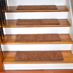 Dean Flooring Company - Dean Non-Slip, Tape Free, Pet Friendly, Carpet Stair Treads - Pumpkin Spice (15) - Quality, Stylish Carpet Stair Treads by Dean Flooring Company.