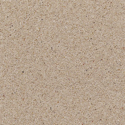 Crema Minerva Silestone Worktops - This nice mocha color would work well in a warm modern kitchen with natural wood tones.