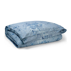 """Ralph Lauren - Twin Floral Comforter 66"""" x 86"""" - BLUE (TWIN) - Ralph LaurenTwin Floral Comforter 66"""" x 86""""DetailsSmooth cotton with blue floral print.Machine wash.Imported.Designer Please note: items that are part of the Ralph Lauren Home Collection are not available at any discount and will be removed from our site during sale events.About Ralph Lauren Home:The first designer to create an all encompassing collection for the home Ralph Lauren Home debuted in 1983 and provides a comprehensive lifestyle experience featuring complete luxurious worlds. Whether inspired by timeless tradition or reflecting the utmost in modern sophistication each of the collections is distinguished by the enduring style and expert craftsmanship of Ralph Lauren. With creative vision and impeccable design Ralph Lauren Home offers both transporting seasonal collections and enduring classics. Inspiration is drawn from English country estates the natural tones and textures of the desert or the spirit of adventure embodied in Safari the romance of seaside living the faded florals and classic ticking stripes of American country or the sleek urban aesthetic of a city loft. The line includes bed and bath linens china crystal silver decorative accents and gifts as well as lighting and furniture."""