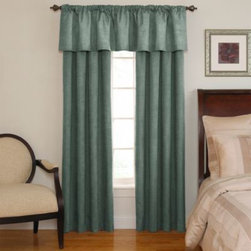Sound Asleep - Sound Asleep Room Darkening Window Curtain Panel - Experience the ultimate in fashion, function and style with the Sound Asleep room darkening window curtain panels, the Official Curtain of the National Sleep Foundation.