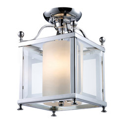 Z Lite - Z Lite 176-3SF-S 3 Light Semi-Flush Mount - Z Lite 176-3SF-S 3 Light Semi-Flush Mount