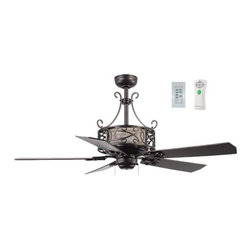 Ellington E-DER54ESP5CR Del Rey Fan With Light - Get up to 10% coupon code: Houzz