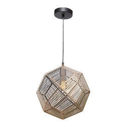 Skars Ceiling Fixture - Modern Scandinavian disco ball, this polished & lacquered brass fixture will send light every way with its square cut-outs and multifaceted design. 60 watts. Bulb not included.