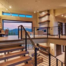 Contemporary Staircase by Gardner Group