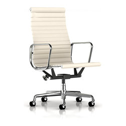 Herman Miller - Eames Aluminum Executive Chair - If you're an executive, you have to look the part. This Eames chair helps your look. And the high back, lightweight, suspended upholstery allows you to look the part while being comfortable. What are you waiting for?