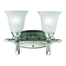 Kichler Lighting - Kichler Lighting - 5927NI - Willowmore - Two Light Bath Fixture - Willowmore is the name of a small trading village located in the Eastern Cape of South Africa.