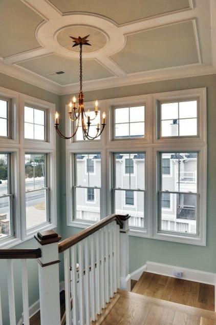 Ceiling Lighting Staircase - - staircase - philadelphia - by Echelon Custom Homes