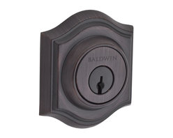 Baldwin Hardware - Reserve Traditional Double Cylinder Arch Deadbolt in Venetian Bronze - Baldwin Reserve combines the tradition of original craftsmanship with advanced technology to provide locks that stand the test of time. Reserve is ideal for designers and homeowners craving a personalized blend of styles.