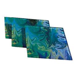 Jan Laurent - Fiesta Glass Coaster - Material: