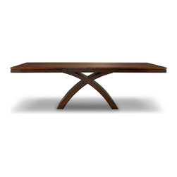 Woodcraft - Broadview Table - Craftsmanship illustrated in simple designs is hard to execute, but we think we got it with the Broadview table.