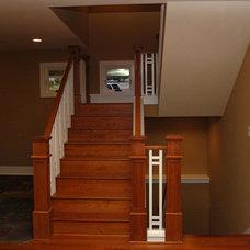 Traditional Staircase by Rainier Custom Homes