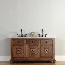"""60"""" Mykonos Double Sink Vanity -"""