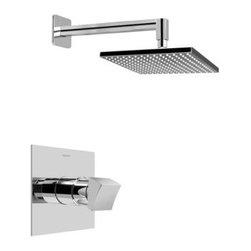 Graff - Graff - Contemporary Pressure Balancing Shower Set-G-7240-C10S-PC - Includes Rough & Trim