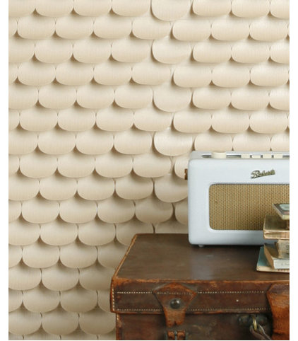 eclectic wallpaper by Catherine Hammerton