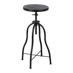 C.G. Sparks - Anna Twist Stool - Black - *Finish: Painted