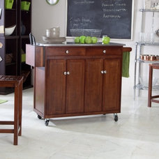 Contemporary Kitchen Islands And Kitchen Carts by Hayneedle