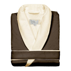 Kassatex Spa Bath Robe, Chestnut