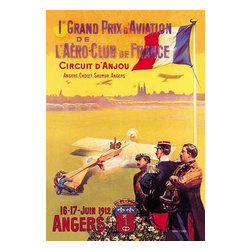 "Buyenlarge.com, Inc. - Grand Prix d'Aviation de L'Aero-Club de France- Paper Poster 20"" x 30"" - Travel & Leisure during the Heyday of Commercial Air Travel when Flying was exciting and foreign locations exotic"
