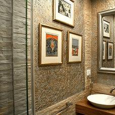 Contemporary Bathroom by Anurag Mendiratta