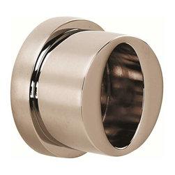 Alno Inc. - Alno Contemporary Iii Shower Rod Brackets Nickel - Alno Contemporary Iii Shower Rod Brackets Nickel