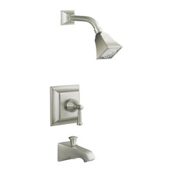 Kohler - Kohler Memoirs Rite-Temp Stately Bath and Shower Faucet Trim - This 'Memoirs' Rite-Temp pressure-balancing bath and shower faucet,with its Stately design,offers a refined elegance for your bath or powder room. A single lever handle complements the clean,traditional styling.