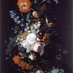 Still Life of Flowers and Fruit, c.1716/17 | Huysum | Canvas Print - Condition: Canvas Print - Unframed
