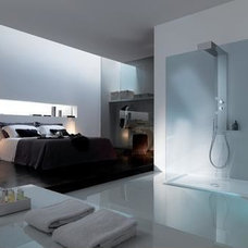 Modern Shower Cabin for Comfortable Bedroom design by Samo | Home and Interior D