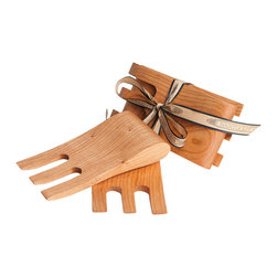 Curt Tyler - Salad Hands - A Nantucket Looms classic! Several chefs claim their hands are their best kitchen utensil so these salad hands, hand-crafted in Vermont, are a must for an island chef.