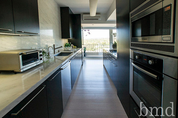 Contemporary Kitchen by Barondes Morris Design