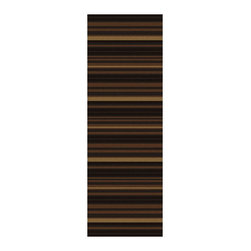 """Surya - Trinidad Hand Woven Runner Rug in Black / Olive (2'6"""" x 8') - Make the enhancement of your interior with this exclusive runner rug. The Trinidad Hand Woven Rugs are the matter of pride and indicator of prestige. Choose the right rug and you'll be able to demonstrate your refined taste. The rugs of this collection characterized by the high quality and durability at a relatively low price.    Features:"""