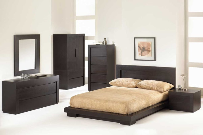 Contemporary Beds Toscana Wooden Bedroom Suite By Huppe