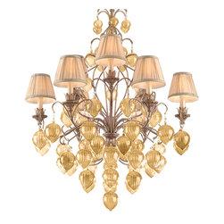 Corbett Lighting - Corbett Lighting 77-09 Venetian 9lt Chandelier - Corbett Lighting 77-09 Venetian 9lt Chandelier