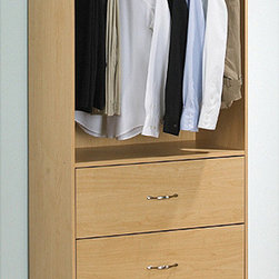 akadaHOME - Akadahome 3-drawer Wardrobe Closet Tower - Keep your clothes organized with the use of this stylish and elegant closet storage. This space-saving closet can easily fit small corners and areas while providing additional storage. Its sturdy materials give you enduring and efficient performance.