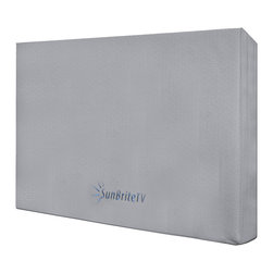 "Sunbrite - 32""Fitted Outdoor Dust Cover, 4-Ply Polypropylene UV Protected, Velcro Str / EA - Features:"