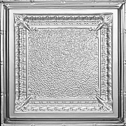 """Decorative Ceiling Tiles - Jackson Square - Tin Ceiling Tile - 24""""x24"""" - #2431 - Find copper, tin, aluminum and more styles of real metal ceiling tiles at affordable prices . We carry a huge selection and are always adding new style to our inventory."""