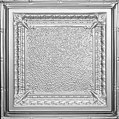 "Decorative Ceiling Tiles - Jackson Square - Tin Ceiling Tile - 24""x24"" - #2431 - Find copper, tin, aluminum and more styles of real metal ceiling tiles at affordable prices . We carry a huge selection and are always adding new style to our inventory."