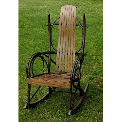 Genesee River Trading Co. Bentwood Rocker -