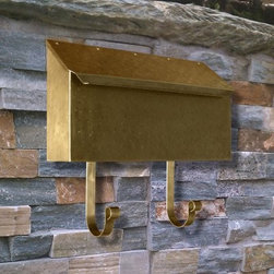 QualArc Provincial Horizontal Mailbox - Add a little extra touch of curb appeal to your home with the addition of the QualArc Provincial Horizontal Mail Box. It brings an Old World look and modern day pop to any style of home it's paired with. Handcrafted one at a time from brass or copper in a selection on finish options, the mail box was designed with style and lasting stability in mind. The optional magazine hooks hang approximately 5 inches and add to the mail box's classic charm. Choose from several finish and configurations. From the manufacturer: Note the brass mailboxes (polished, black bottom, or antique brass) have a lacquer finish to help protect them. The copper mail boxes do not have a lacquer finish and will form a natural Patina over time. Finish information: If you want a refined look, choose the polished brass finish. If you want a rustic look, choose the hammered finish. The rustic antique hammered finish is hand hammered, scuffed, and buffed. Please note that this finish may show some scuff (sanding) marks. This is part of the rustic character of this finish and is not a defect. Finish protection: To help preserve the polished finishes, we recommend a clear, no-buff car wax. Clean the mailbox periodically with warm soapy water and a soft cloth - rinse and dry with a soft cloth. Then apply no-buff car wax. Polished brass finishes are not recommended for corrosive salt-air locations. About QualArcBased in Rancho Cordova, California, QualArc makes the things that mark your home. Using unique and beautiful weatherproof materials and industry-standard manufacturing processes, they create address plaques, mailboxes, and more that are built to last. Stone, aluminum, steel, granite and more come together to create high-quality markers with high curb appeal. It's easy for friends and family to find your house when it's marked with a QualArc product.