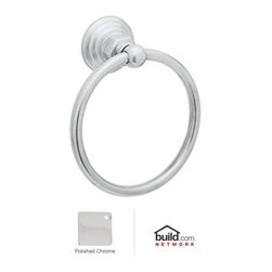 "Rohl - Rohl ROT4APC Polished Chrome Country Bath Country Bath 6"" Towel Ring - Country Bath 6"" Towel RingThe Rohl Country Bath collection matches a relaxed country lifestyle with refined Italian elegance. Inspired by the scenic regions of northern Italy, the Rohl Country Bath collection is also crafted there. This collection is the ideal combination of form and function. Look for a number of different variations within the Rohl Country Bath collection, with popular families like Verona, Alessandria, Hex, and Viaggio. Give your kitchen and bathroom an amazingly stylish update and upgrade with Rohl's Country Bath collection.Rohl ROT4 Features:Metal die cast construction - weight: 1 lb.Superior finishing process – chemical, scratch, and stain resistantTowel ring length: 6-1/4""Towel ring height: 6-1/4""Extra secure mounting assemblyEasy to clean and installAll mounting hardware includedFully covered under Rohl's limited lifetime warrantyManufactured in New Zealand, Western Europe, and/or North AmericaAbout Rohl:Excellence, durability, and beauty. Family values, integrity, and innovation. These are all terms which aptly describe Rohl and its remarkable selection of kitchen and bathroom faucets and fixtures. Since 1983, Rohl has maintained a commitment to providing high-quality plumbing products for residential and commercial applications, while assuring these fixtures would make a difference in the overall décor in the living space. With a dedication to excellence throughout the home, Rohl has been satisfying homes, schools, hospitality venues, and restaurants all around the world. Rohl specializes in providing timeless designs for every type of theme, including traditional, transitional, and modern. When Rohl suggests its products reflect the feel of a certain area outside the United States, it's more than just that. Rohl products are authentically crafted in towns in New Zealand, Western Europe, and North America ."
