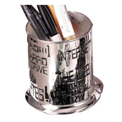 Godinger Silver - Computer Pencil Holder - Smarten your office to attract diligent workers. This pencil holder will make all the difference, so just try it and see it works. Drop all your pencils or pens in an elegant manner using our Godinger pencil holder. Made of silver plated material, this piece will last you for years to come.