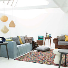 Eclectic Family Room by usona