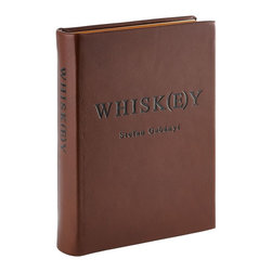 Whiskey Book Traditional Leather - A great edition for lovers of good whiskey.