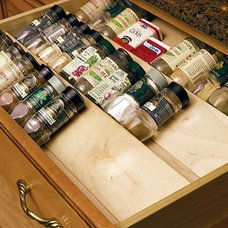 Traditional Cabinet And Drawer Organizers by KitchenSource.com
